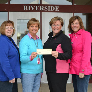 Riverside Intermediate School Gives Back to Ounce of Prevention