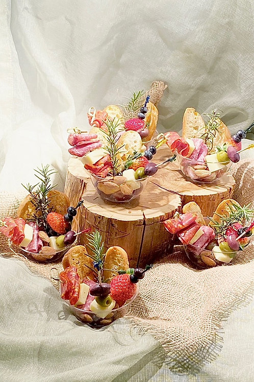 8 Individual Charcuterie Cups