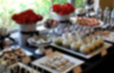 40th-birthday-party-dessert-candy-table-