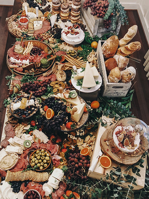 Grazing Table as an Appetizer
