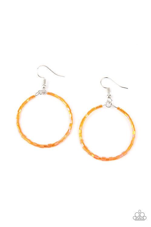 Colorfully Curvy - Orange