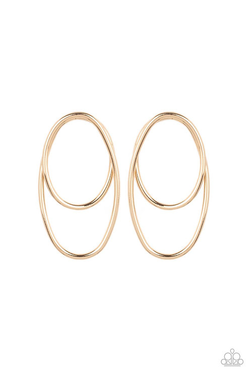 So OVAL-Dramatic - Gold