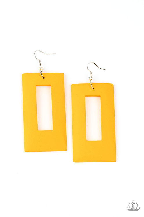 Totally Framed - Yellow