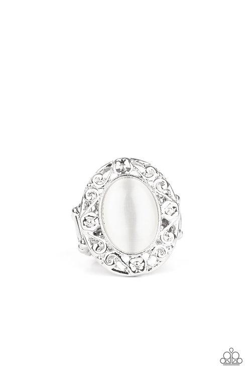 Moonlit Marigold - White