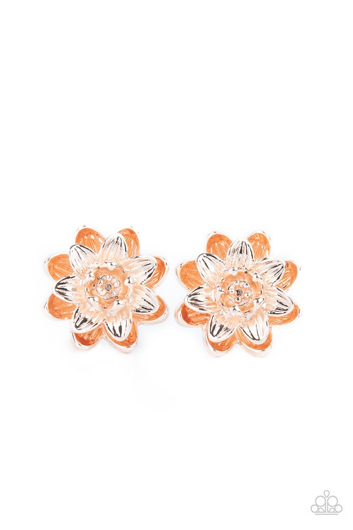 Water Lily Love - Rose Gold