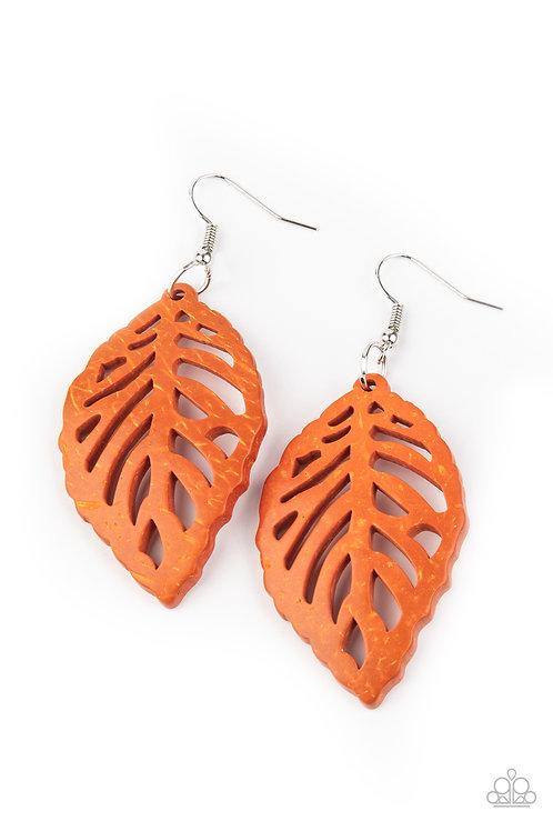 LEAF Em Hanging - Orange