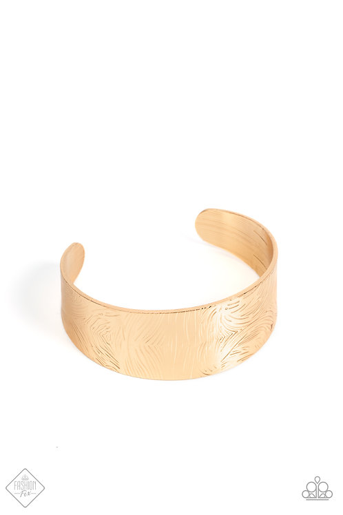 Coolly Curved - Gold