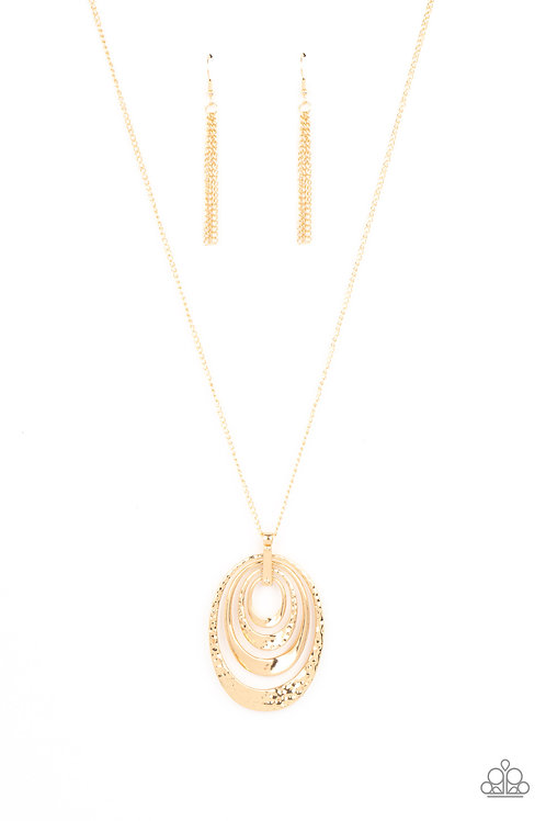 Smithsonian Spiral - Gold
