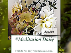 #MeditationDaily