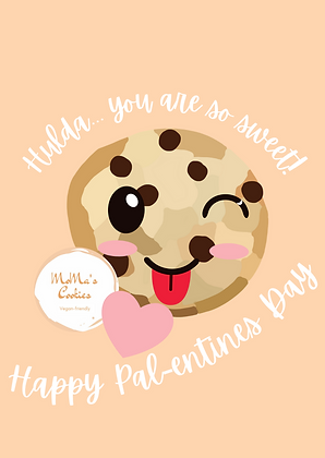 Cheeky Personalised Palentine's  Day Card