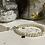 Thumbnail: Bracelet Perles Facettes Beige