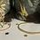 Thumbnail: Jonc façon perles  Doré