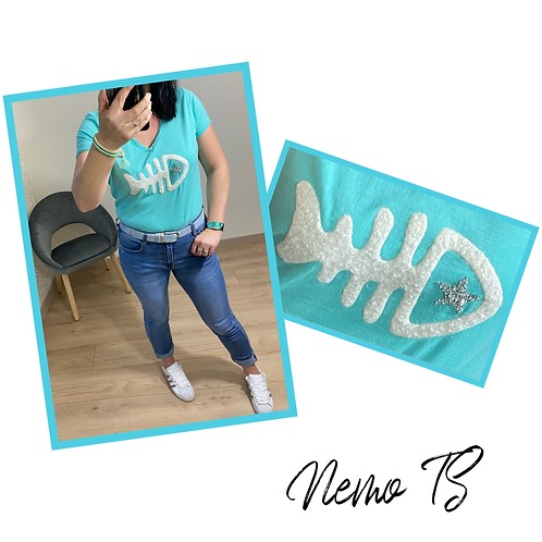 Nemo T Shirt Turquoise