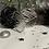 Thumbnail:  Boucles d'oreilles Feuille de palmier argent