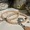 Thumbnail: Bracelet Perles facettes Nude