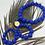 Thumbnail: Merveilleuse Bleu Roi (petit modèle)