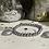 Thumbnail: Bracelet Perles Facettes Argent