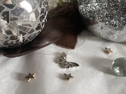 Papillon Argent