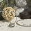Thumbnail: Jonc façon perles  Argent