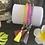Thumbnail: Bracelet perles Facettes Fushia