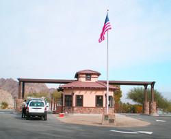 New Entrance Kiosk at Cahuilla Park