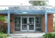 Lincoln Elementary School Entrance