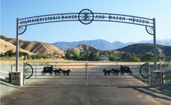 Gate at Gilman Wagon Museum