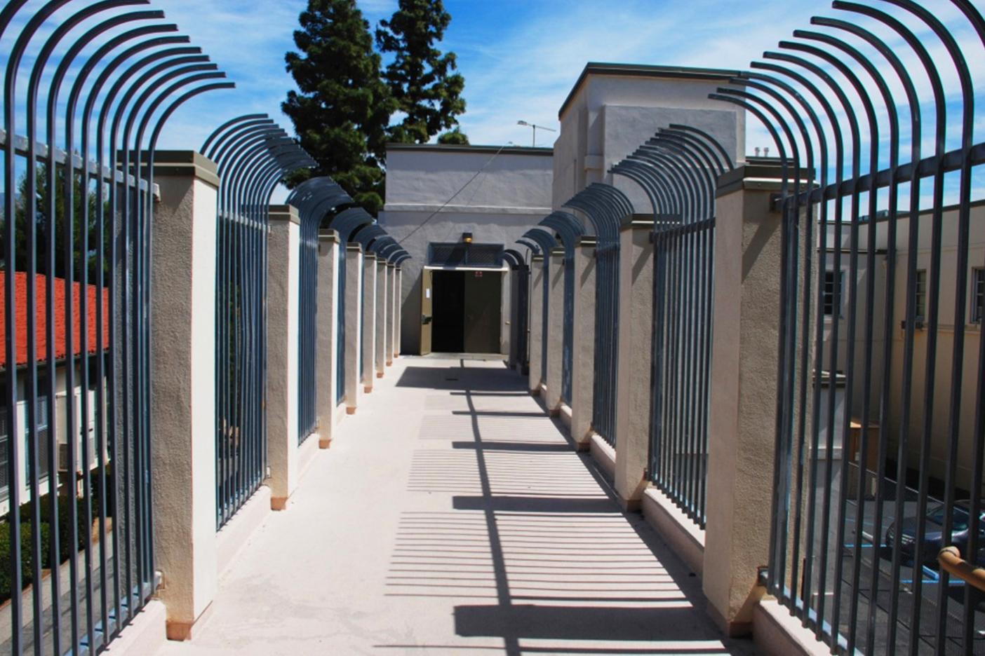 New bridge and elevator for San Fernando Elementary School 2