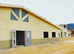 Yucaipa Prefab School Under Construction