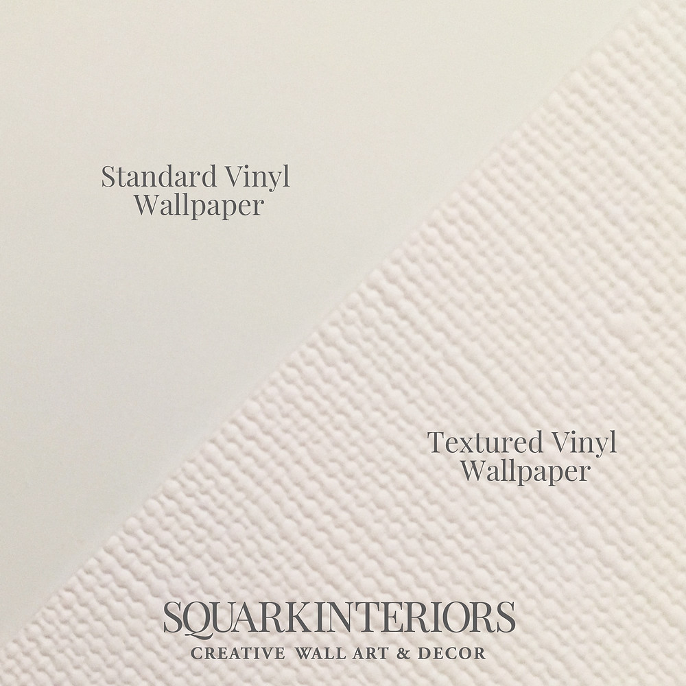 Squark Interior samples of laminated and textured wallpapers