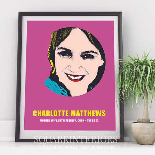 Personalised Pop Art Portrait