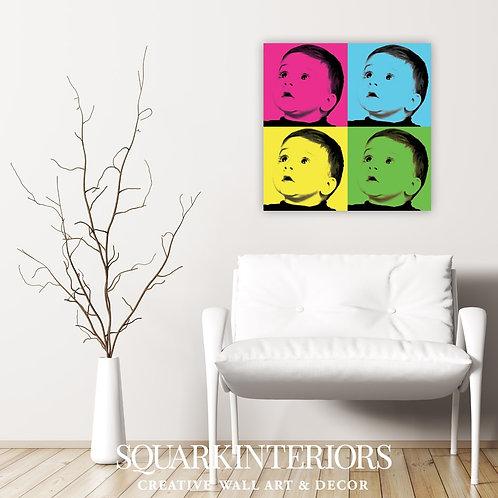 Duo Tone Art Canvas - From a personal photograph