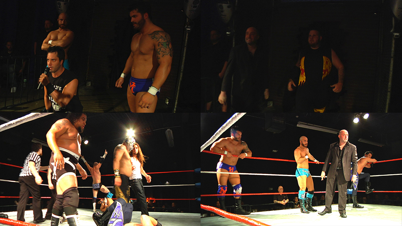 8-Man Tag Team Match
