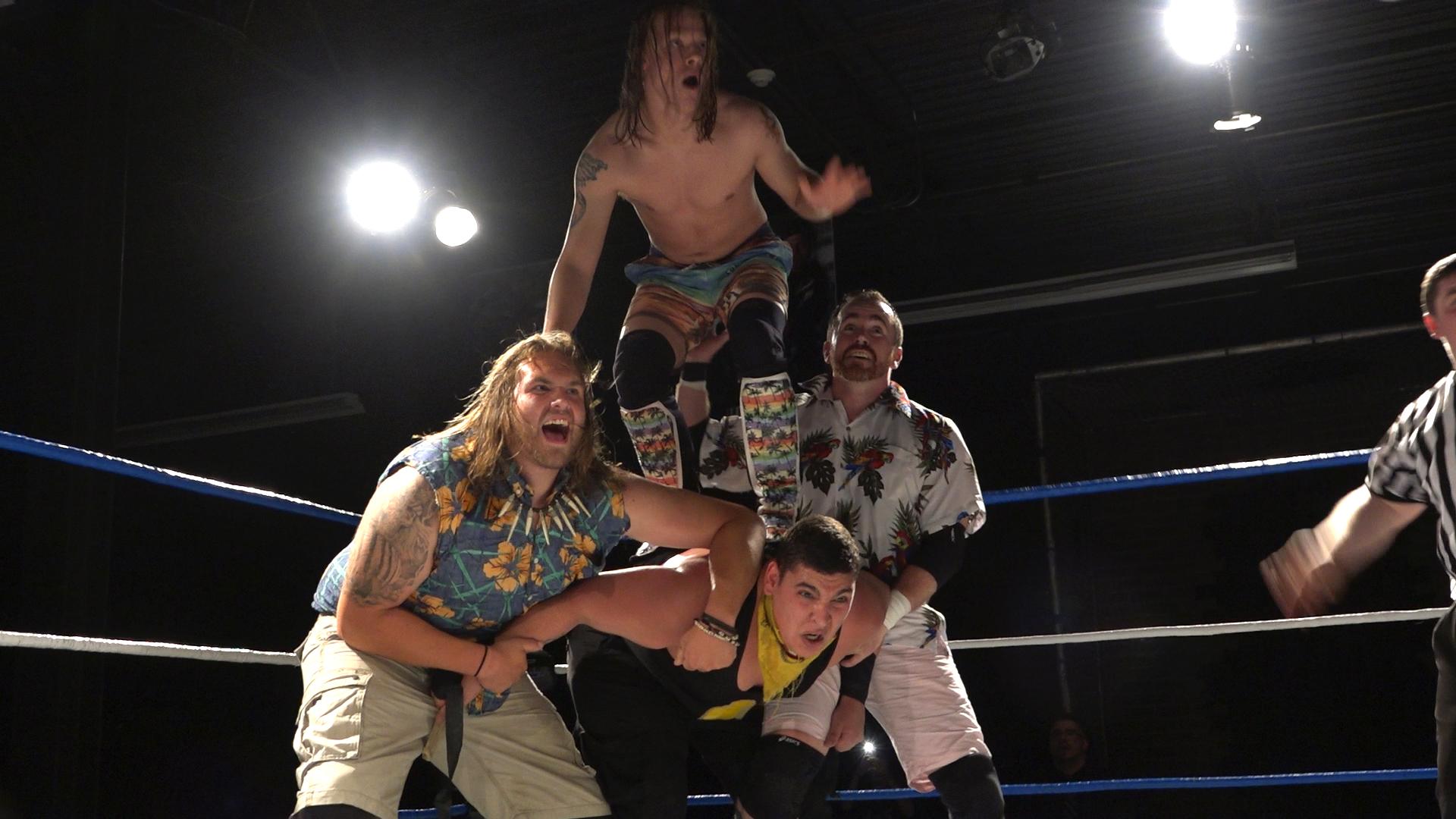 Six Man Tag Team Match