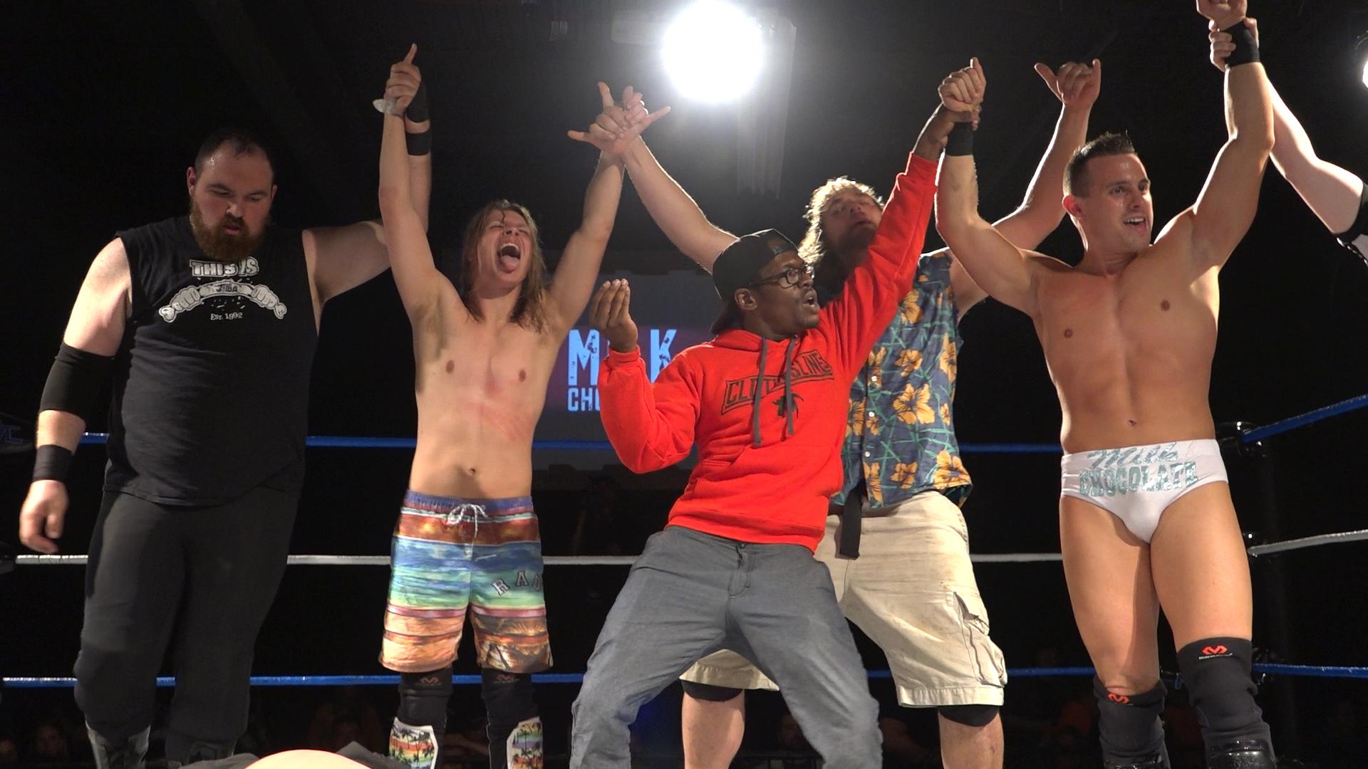 Eight Man Tag Team Match