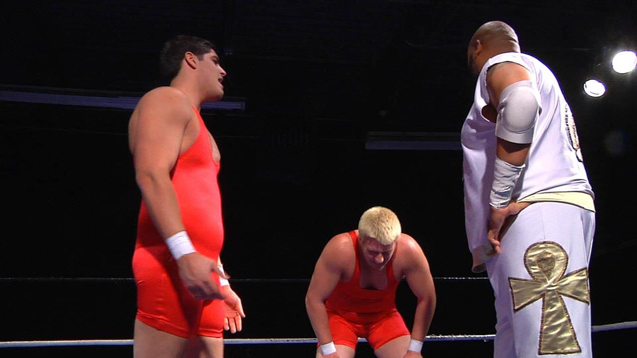 6-Man Tag Team Match