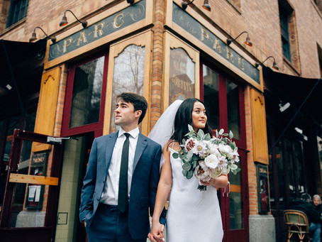 A Philadelphia Elopement at City Hall | Amy & Quinn