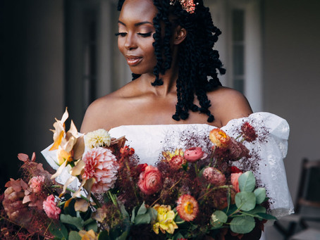Micro-Wedding Inspiration with Sunset Hues