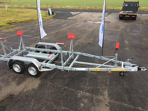MTV 1522F Trailer (Max Boat Weight - 1425kg | Max Boat Length 8.8m)