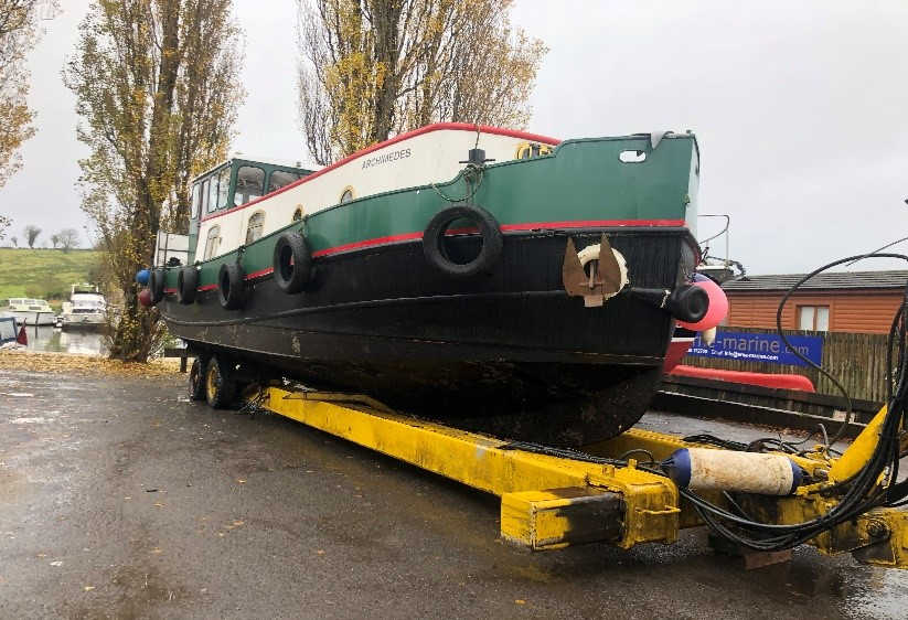 35T BOAT TRAILER FRONT