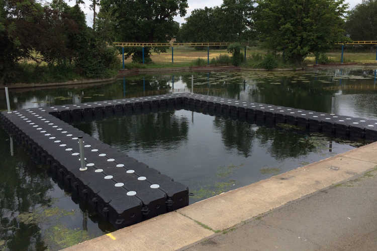 P&D3 CUBE PONTOON FLOATING MOORING WALKWAY SECTION