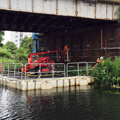 Commercial Pontoon Hire Works