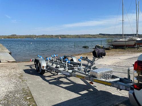 MTX1352FD Central Keel Roller Trailer (Max Boat Weight - 1180kg)