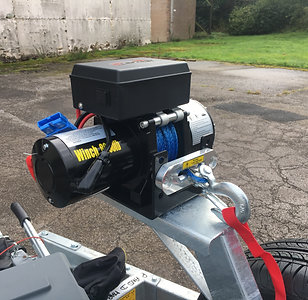Electric Winch & Box (3000kg)