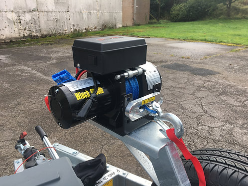 Electric Winch & Box (2500kg)