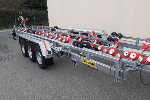 MTX2803F Triple Axle Boat Trailer (10m | 3500kg Plated Weight)