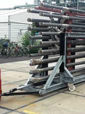Multi-Mover XXL20T Steel Trailer