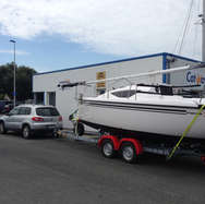 PDMS TRAILERS VX25F YACHT TRAILER