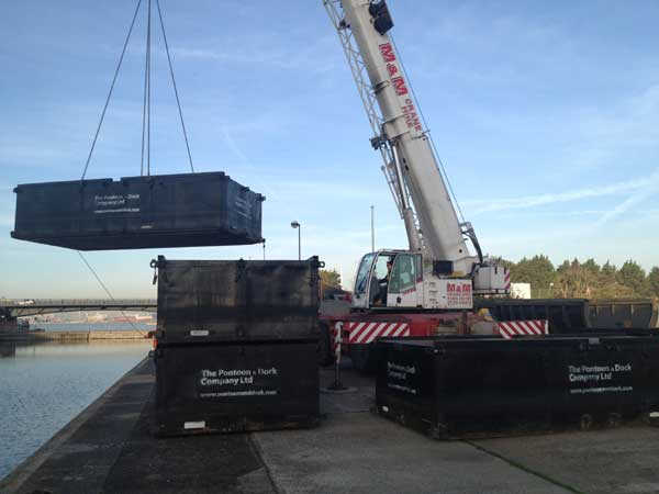 LINKFLOTE FLOATING PONTOON SECTIONS