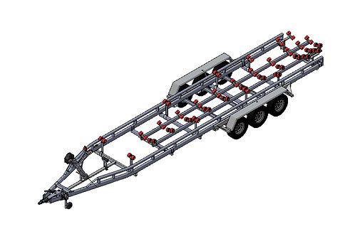 MTX2803F Triple Axle Boat Trailer (9m | 3500kg Plated Weight)